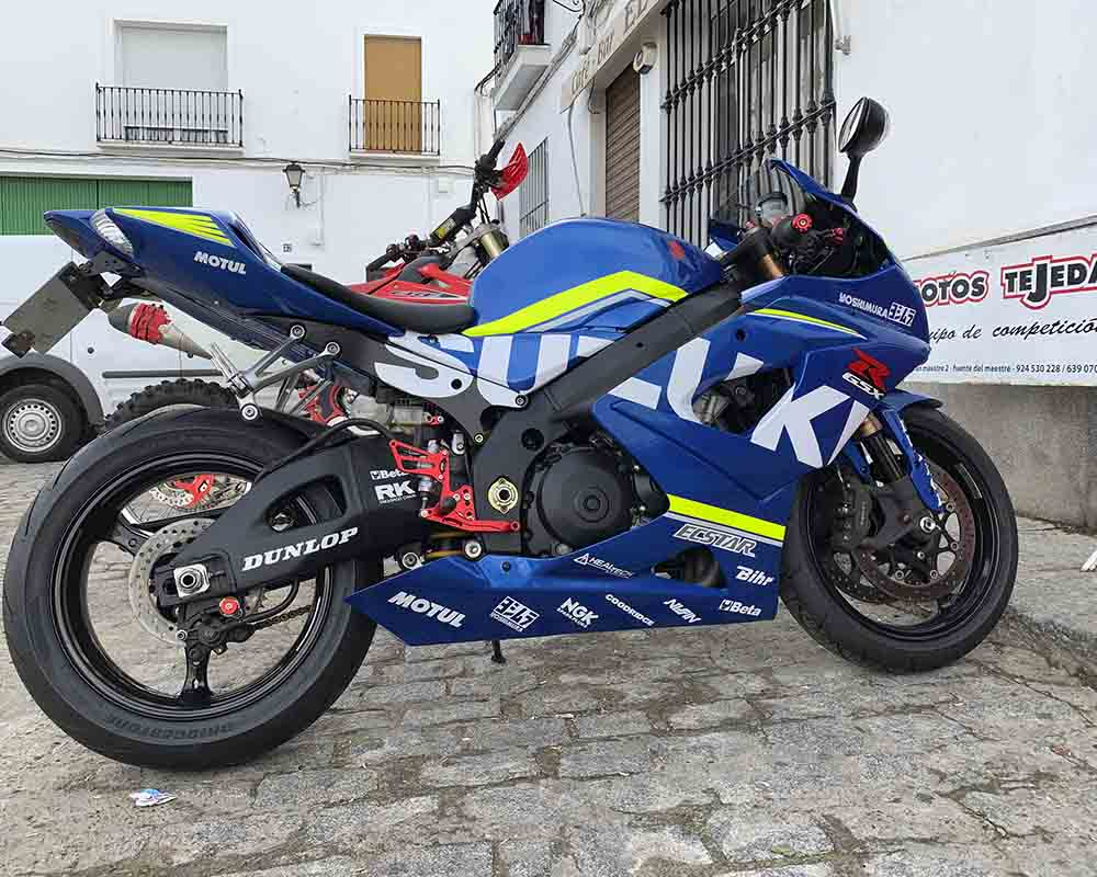 rélica motocicleta alex ring